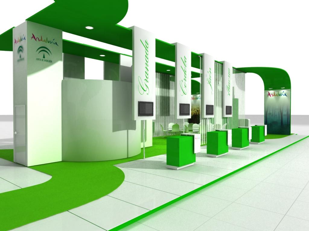Atriles estructuras de madera y fierro exhibidores for Design de stand